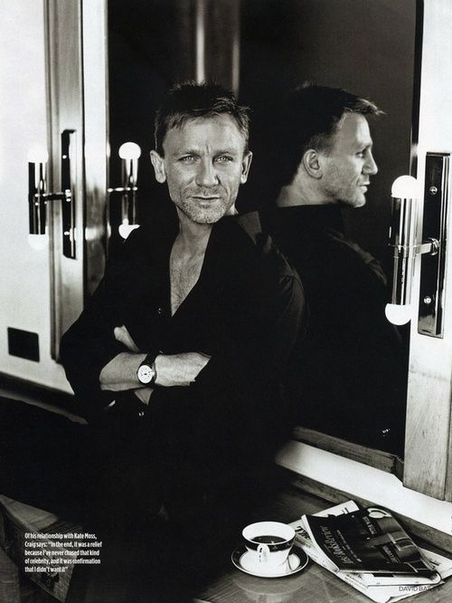 Daniel Craig (OLDER MEN NEED LOVIN' TOO! lol)
