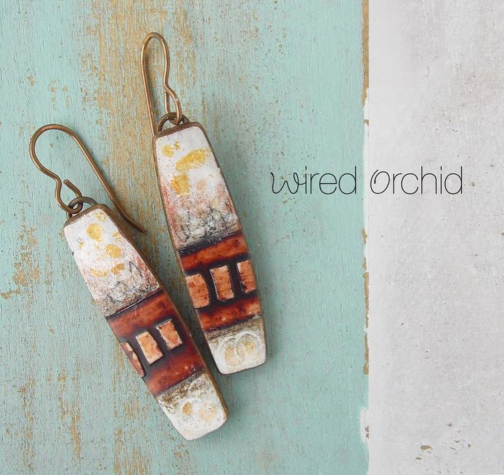 """107 Likes, 4 Comments - Lorraine Vogel (@wiredorchid) on Instagram: """" grungy grid www.wiredorchid.com • www.facebook.com/wiredorchid #wiredorchid #jewelry #earrings…"""""""