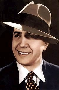 The immortal Carlos Gardel, Argentina's famous composer, singer and actor from the first quarter of the 20th century