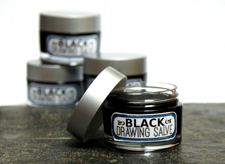 Black Drawing Salve DIY! A wonderful natural home remedy has centuries of historical use, this homemade black drawing salve recipe works as a natural home remedy for splinters, boils, acne, bee stings, poison and infections. A must have for your healthy medicine cabinet! #blacksalve #drawingsalve #salve #salverecipe #diy #recipes #skincare #medicine #health #wellness #homeremedy #natural remedy #crafts #gifts