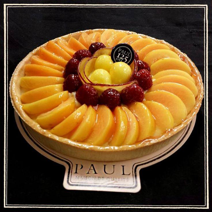 Η ωραία της ημέρας συχνάζει στα καταστήματα Paul! Το όνομά της: Tarte aux multifruits. Γευθείτε την!