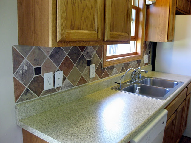 paint a tile backsplash diy crafts pinterest