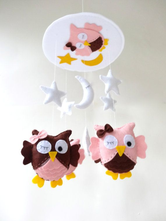 Free shipping  Baby Crib Mobile  Baby Mobile  by LaPetiteMelina, $99.00