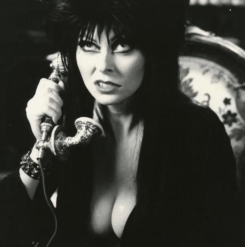 Elvira, she might be a character, but I still love her!