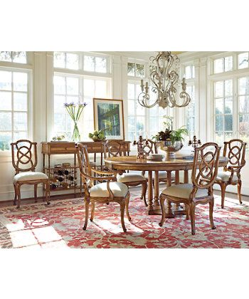 70 Best Dining Room Images On Pinterest  Chairs Lillian August Pleasing Stanley Dining Room Set Design Ideas