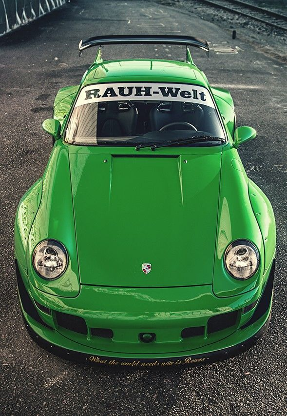 Best Dubai Luxury And Sports Cars In Dubai: Porsche 911 RWB