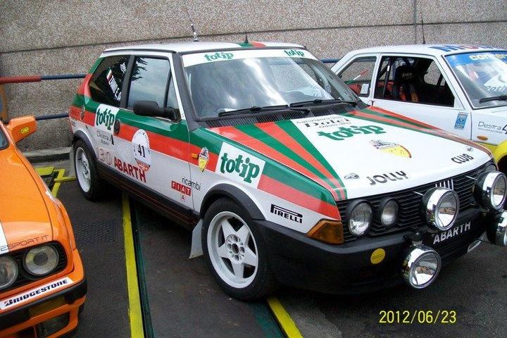 Fiat Ritmo Abarth Totip ex Jolly Club