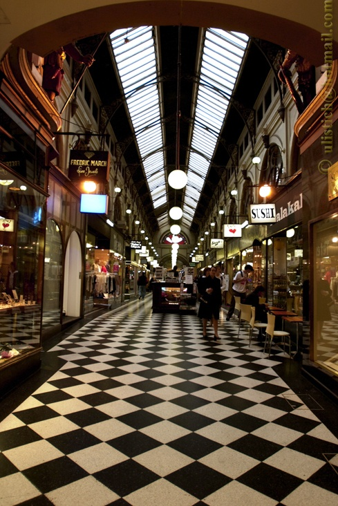 Royal Arcade melbourne, chocoholics walking tour.