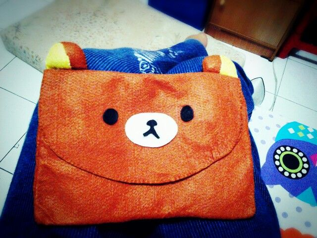 Diy Rilakkuma Pouch made by Me ❤