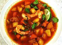 Receta de caldo de camarón seco