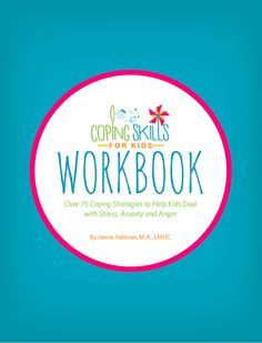The Coping Skills for Kids Workbook - PRINT VERSION is here! This workbook has over 75 strategies for kids to try, with more than 20 printables/worksheets to use. Visit copingskillsforkids.com today to order your copy!