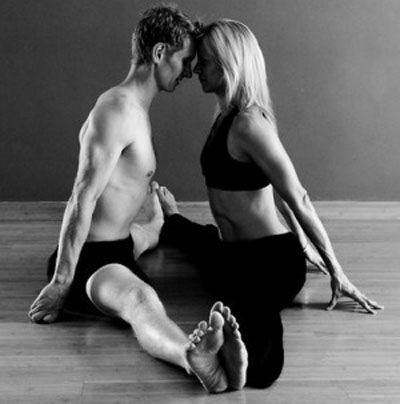 super sexy partner yoga poses! ;)