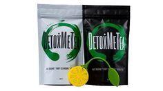 "Weight Loss Detox Tea 14 Day Kick Starter Pack. 14 DAY KICK STARTER DETOX TEA PROGRAM ( 2 PACKS ) + a ""FREE"" SILICONE LEMON SHAPE TEA STRAINER VALUED AT US$5. www.detoxmetea.com"