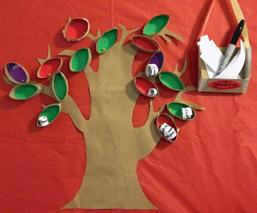 This Gratitude Tree is fun to make, and a great way to be thankful this month!