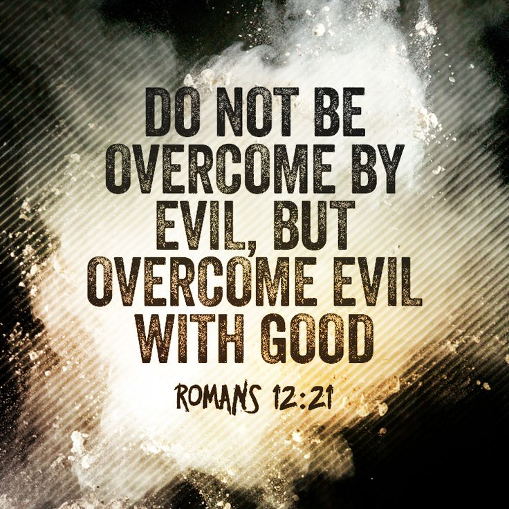 Image result for bible verses on fighting evil