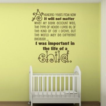 52 best Baby & Nursery Wall Stickers images on Pinterest | Nursery ...