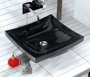 Les 25 meilleures id es de la cat gorie salle de bains en granit sur pinteres - Vasque a poser lapeyre ...