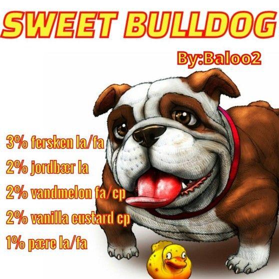 <b>Sweet bulldog</b><br /><b>Baloo2</b> har tilladt at vi må bruge hans opskrifter.
