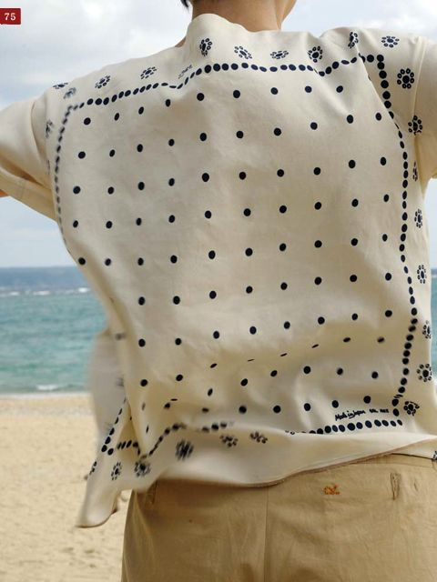 silk scarf blouse from vintage scarves