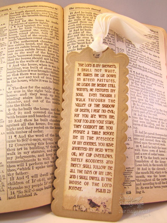 Bookmark- Prayers