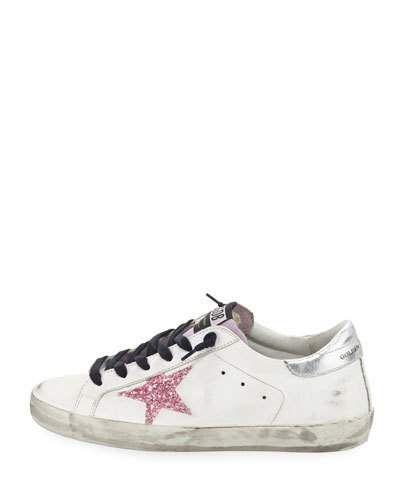 5f807d5547e X41ZW Golden Goose Superstar Glitter Platform Sneaker