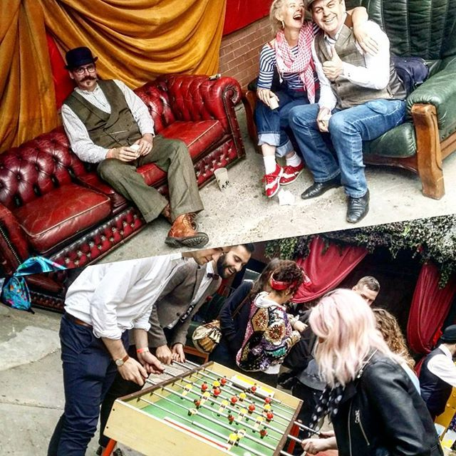 Epiiiiiic day providing sofas and classic fusball for the fantastic @swingamajig festival down in Birmingham 💃💯👍 Such an incredible event, such a great team. Want vintage furniture, games, decor and more at your event?? 😉 check out www.modularmoods.co.uk and get booking now👌#modularmoods #chesterfieldsofa #vintage #retro #preloved #sofas #popuplounge #portablelounge #sheffield #sheffieldissuper #leather #upholstery #equipment #vibespecialists #swingamajig #birmingham #festival #swing…