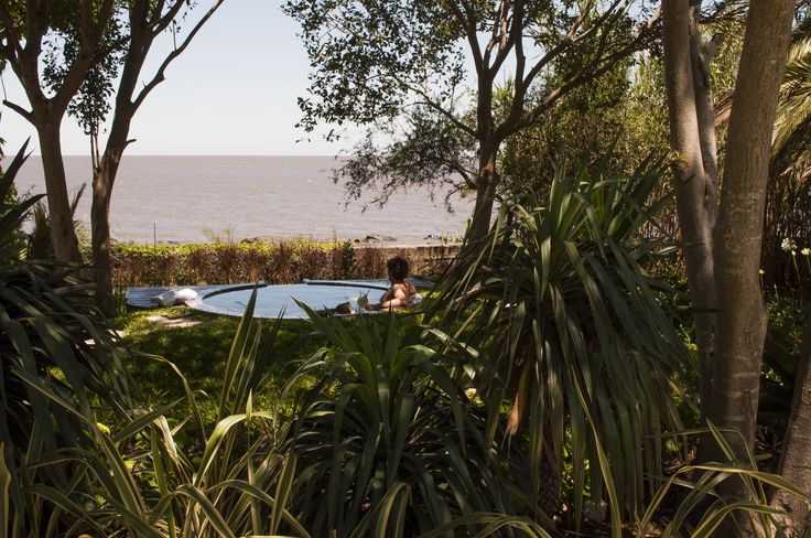 Relaxing at El Charco Hotel - #Colonia - #Uruguay