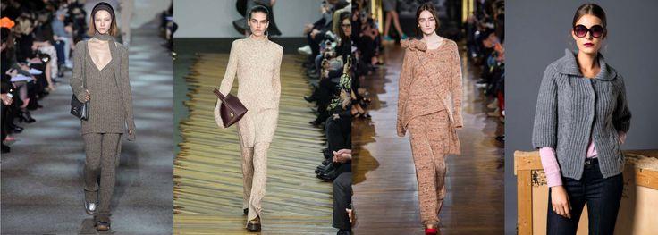 10 tendenze moda Autunno Inverno 2014/15: KNITWEAR Punto Blu Boutique - Tarquinia
