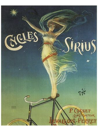 vintage bike ad