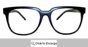 Bentley Square Wayfarers Glasses - 303 Black