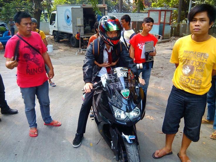 Bruuum...!!! Billy Davidson as Nico & Dea as Alda [at] Kuningan - Jakarta