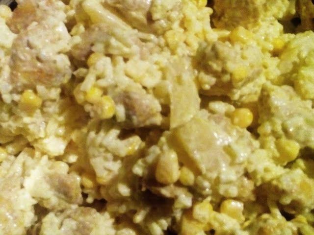 Sałatka z kurczakiem curry