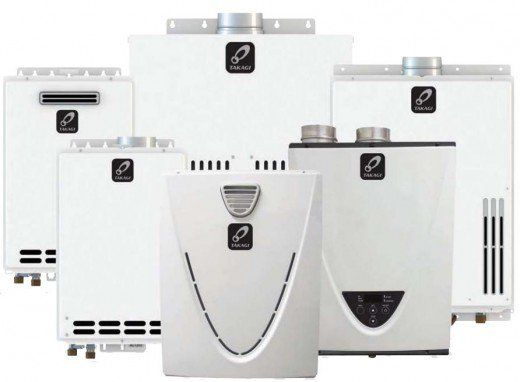 best propane and natural gas tankless water heaters