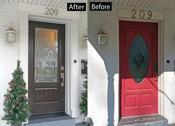 Fiberglass Garage Door Makeover