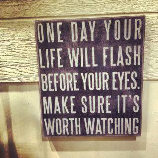 Elke dag is waardevol. Wacht niet met het te waarderen.