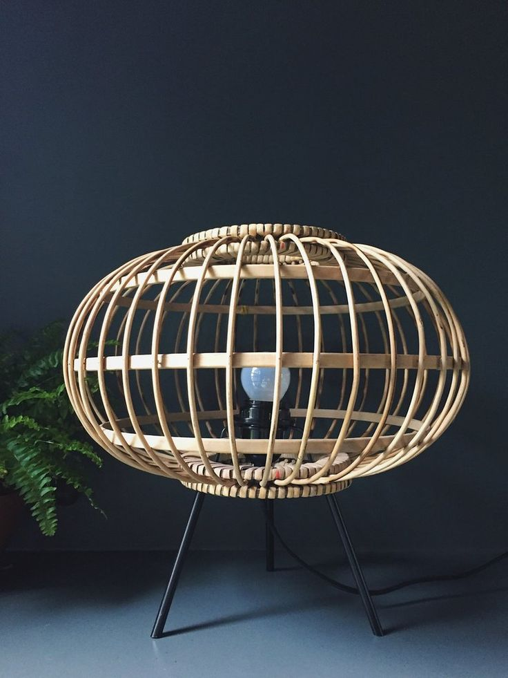 Bamboo Table Lamp HK Living – Homeplace