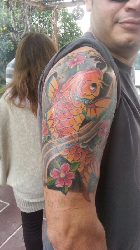 #Tatto #Koi