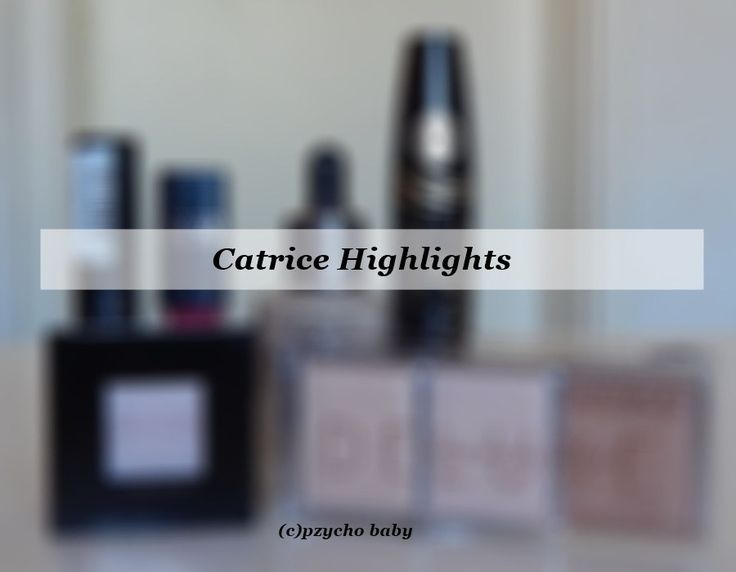 Catrice Highlights von Rossmann