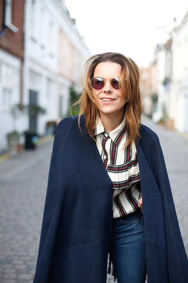 Stylist and blogger Juliet Angus in Kirei.