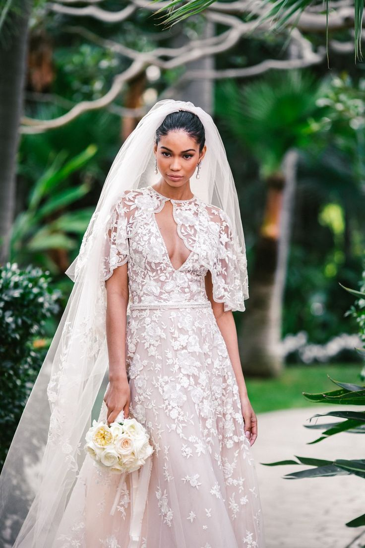 Chanel Iman and Sterling Shepard married last night, just three months after getting engaged! See Chanel Iman's beautiful wedding photos.