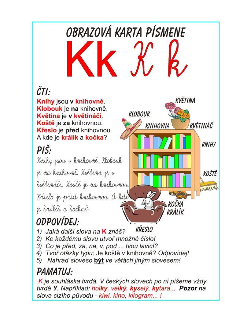 Inkluzivní škola - písmeno K