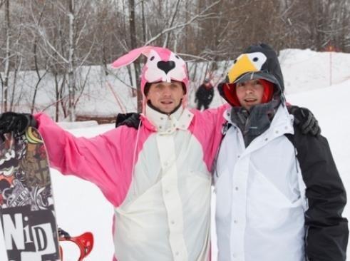 Костюм пингвина сноуборд
