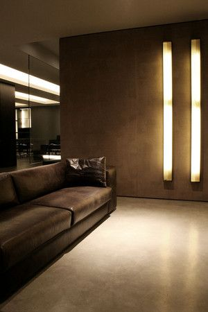 Vincenzo De Cotiis Architects - wall lighting