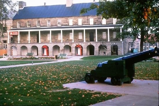 Officers' Square - historic Fredericton
