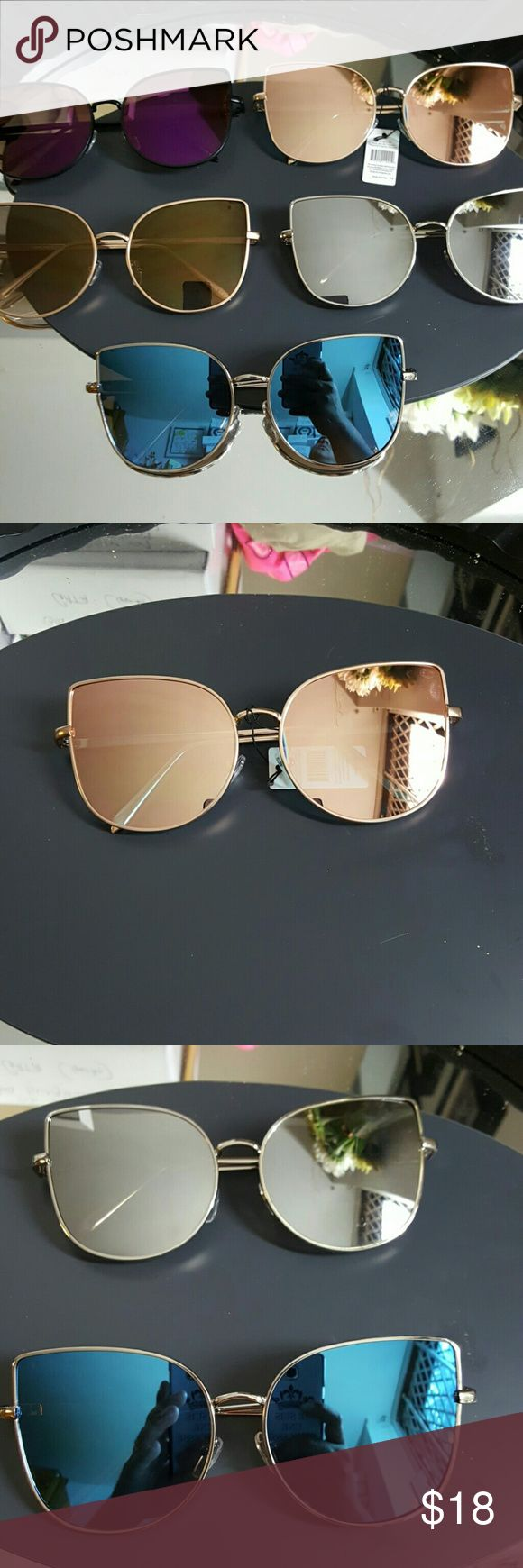 Spotted while shopping on Poshmark: HIGH QUALITY CAT STYLE WOMAN MIRROR SUNGLASSES! #poshmark #fashion #shopping #style #Accessories