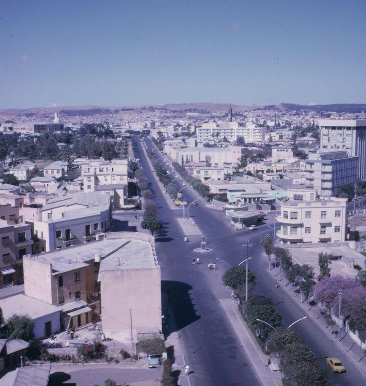 """Asmara, """"Eritrea"""" From The Nyala Hotel. 1969."""