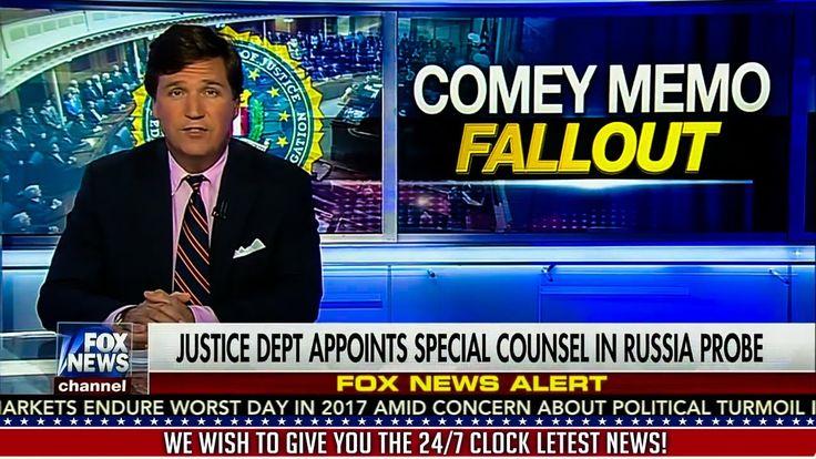 Tucker Carlson 5/23/17 : President Trump Latest News Today, Fox News Tod...