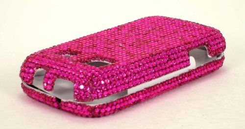 Buy FULL DIAMOND CRYSTAL STONES COVER CASE FOR SAMSUNG TRENDER M380 HOT PINK NEW for 10.85 USD | Reusell