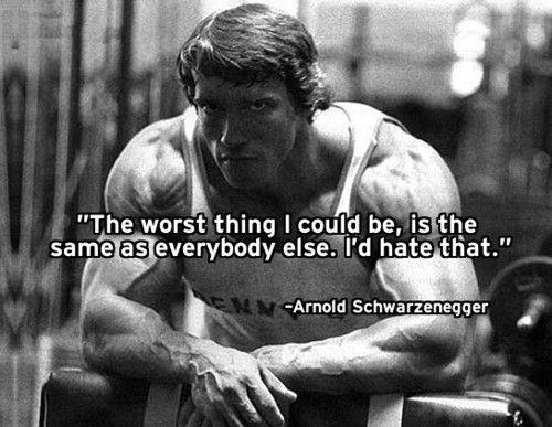 Arnold Schwarzenegger quotes, Arnold Schwarzenegger quote