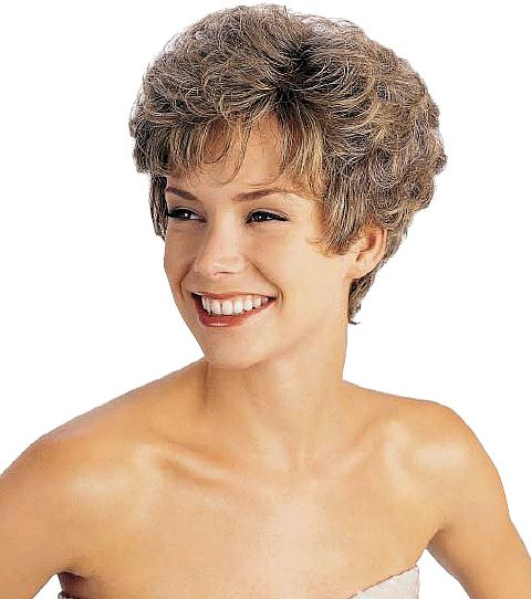 Curly Perm Wedge Louis Ferre Wigs Kate 7023 Mono